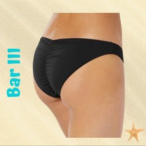 Bar III Cheeky bikini bottoms - Black